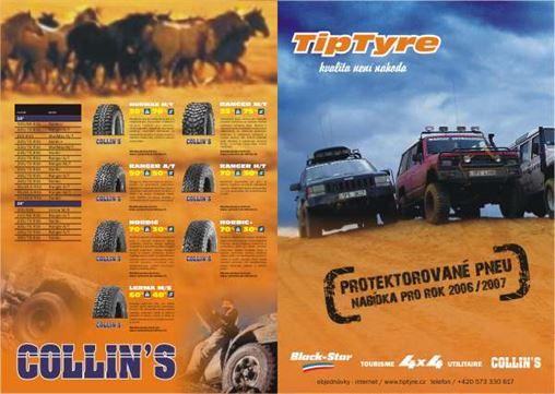 4x4 pneu. Rozšíření nabídky pneumatik Black Star pro vozy 4x4 offroad.