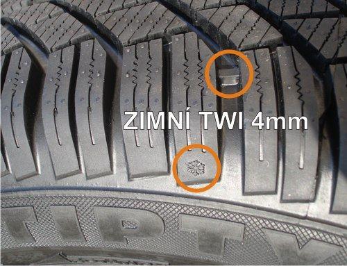Povinnost použít zimní-pneu - základní informace